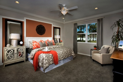 The Woodlands Model - Plan 2293 Master Bedroom