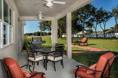 The Woodlands Model - Plan 2293 Covered Patio