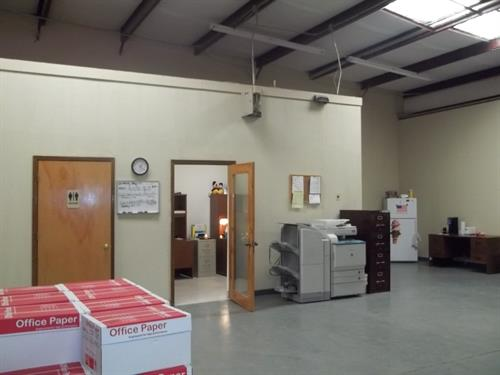 Our office at 301 N. 17th Street, Suite G