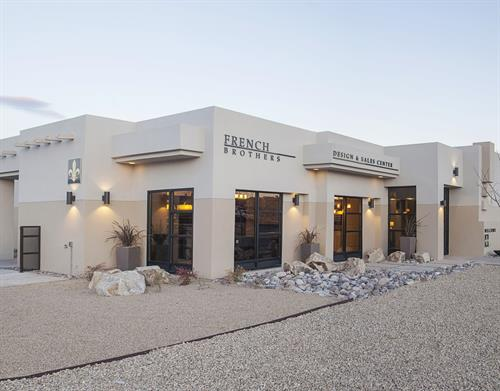 Our Las Cruces French Brothers Sales & Design Center with model home at 4101 Council Oak Rd.