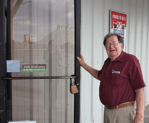 Edge is the original owner of Horse N Hound. In 2005 he sold the business to his grandson, Curtis Creighton. Edge still works a few days a week and loves to greet customers.