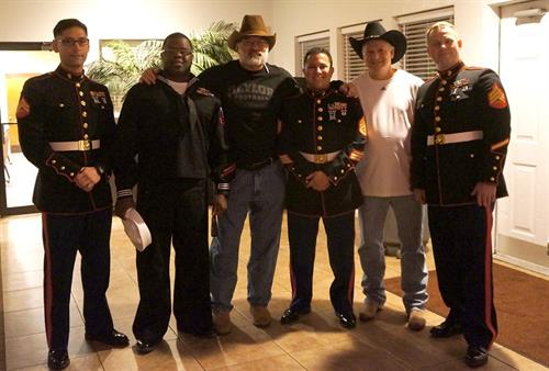Toys for Tots event