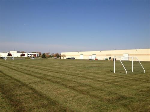 Metalmaster Roofmaster Soccer Field