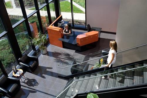 Metalmaster Roofmaster Reception Area
