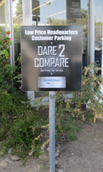 Custom Designed Parking Sign