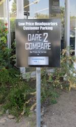 Custom Designed Parking Sign