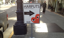 Retail Directional Sign