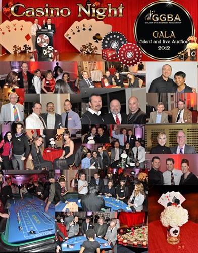 "GGBA's ""Casino Night Gala"" By Sullivan & Botello Events LLC"