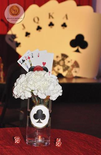 "GGBA's ""Casino Night Gala Decor"" By Sullivan & Botello Events LLC"