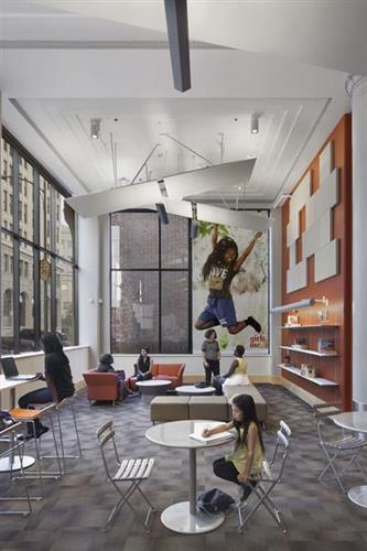 Designing for Youth: The Girls Space at Girls Inc.'s new Simpson Center for Girls