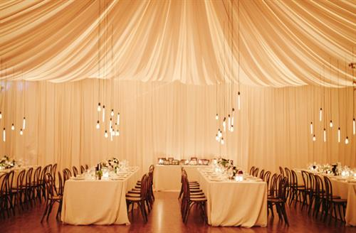 Lighting & Drape Design by Got Light.
