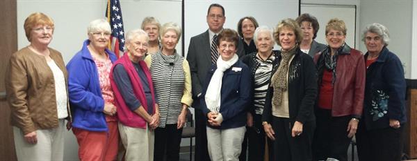 November program meeting with Chief Lehner