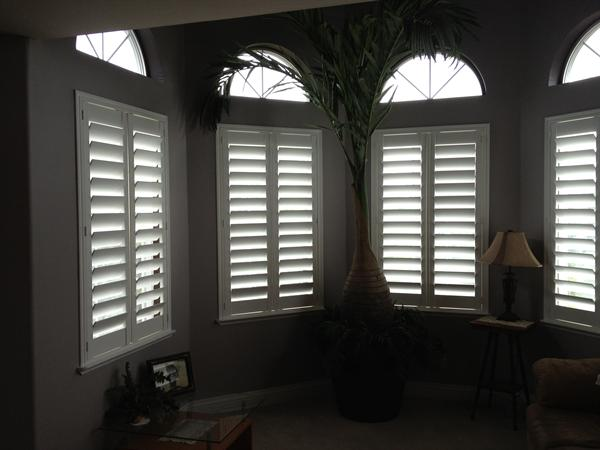 Custom Budget Blinds Pure-Vu composite shutters