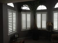 Custom Budget Blinds Pure-Vu composite shutters