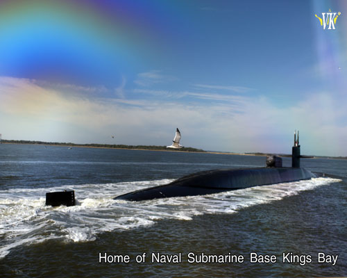 USS Georgia stationed at Naval Submarine Base Kings Bay