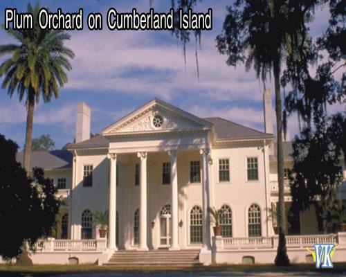 Plum Orchard located on Cumberland Island Georgia