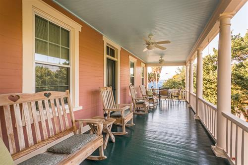 Second-floor verandah