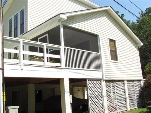 House Make-Over with vinyl siding