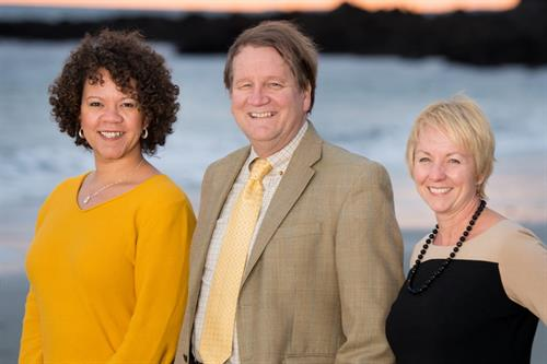 Maine Center for Elder Law Attorneys: associate Britton Ryan Garon; founder, president and managing attorney Martin C. Womer; and member attorney Barbara S. Schlichtman