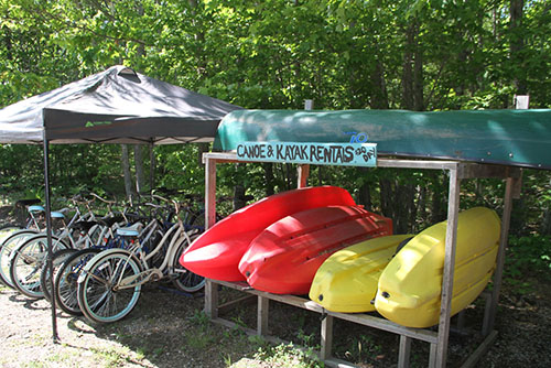 Kayak - Canoe and Bike Rentals