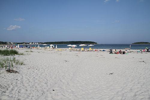 Nearby Goose Rocks Beach