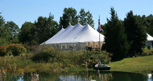 Outdoor Tented Weddins Up to 250 Guests
