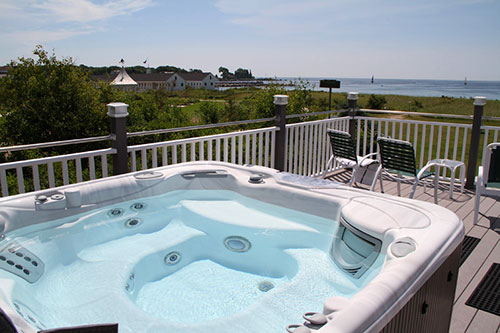 Oceanview Hot Tub Open Year Round
