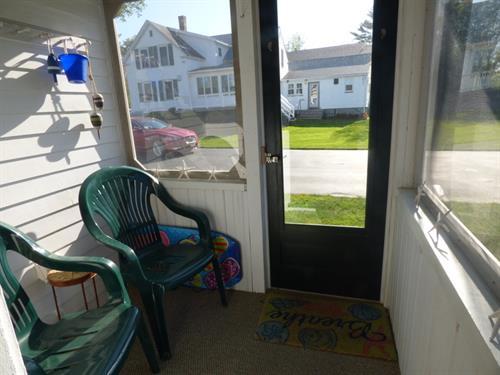 Cottage 5 porch