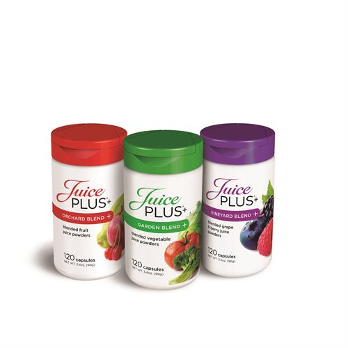 JuicePlus+ Trio - Orchard, Garden & Vineyard Blend