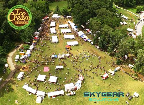 Hi Above --- Ice Cream Festival with Drone (You should have been there).