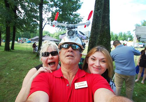 Friends at Wilmington Ice Cream Festival 2015
