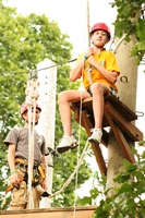 4-H Camp High Ropes Course