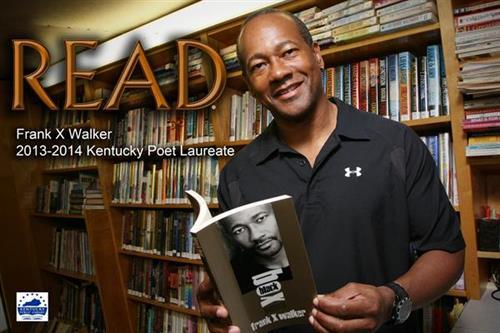 Frank X Walker, 2013 Ky. Poet Laureate