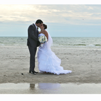 Wedding Portrait at Skaket Beach