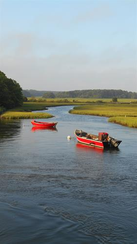 Wright Chiropractic & Sports Care sits on the beautiful Herring River in West Harwich