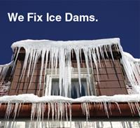 We fix Ice Dam issues