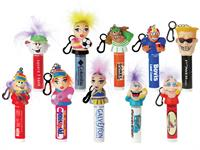 cute people lip balm choices with your logo