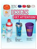various custom imprinted drinkware