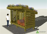 Conceptual wood shed  - Contact Inhabitect for more info