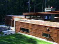 Green Roof on a Private Residence in Honor, MI