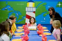 Great Lakes Children's Museum is excellent for no-hassle birthday parties!