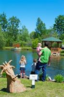 Feed the fish at the Reflection Pond - plenty of family friendly fun