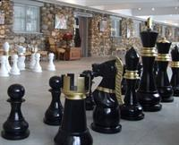 Play a game of giant chess at Castle Farms