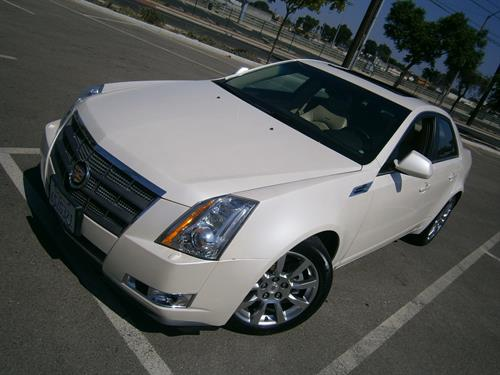 2008 Cadillac CTS White Pearl