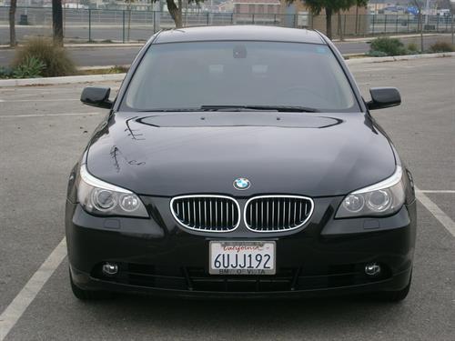 2007 BMW 528i Black