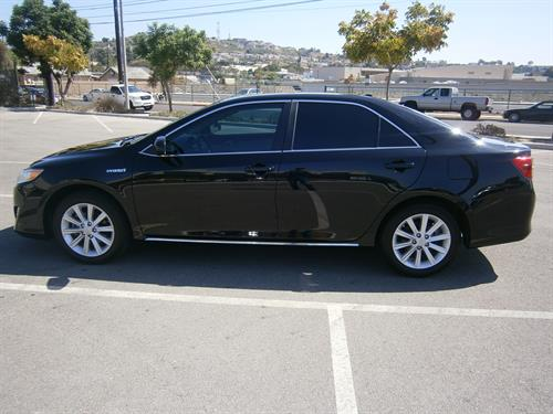 2012 Toyota Camry XLE Black