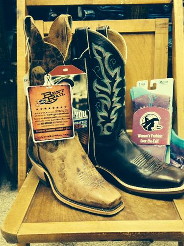 Some of our Justin boots for women!