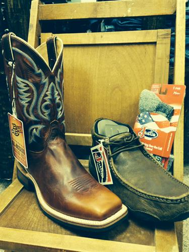 A couple the men's boot styles we stock in store!