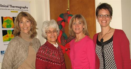 Kerry & staff at Complementary Care Health & Wellness:  Susan, Kerry, Jann & Michelle