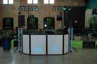DJ Set up at The Taste of Chamber 2014 @ The Works
